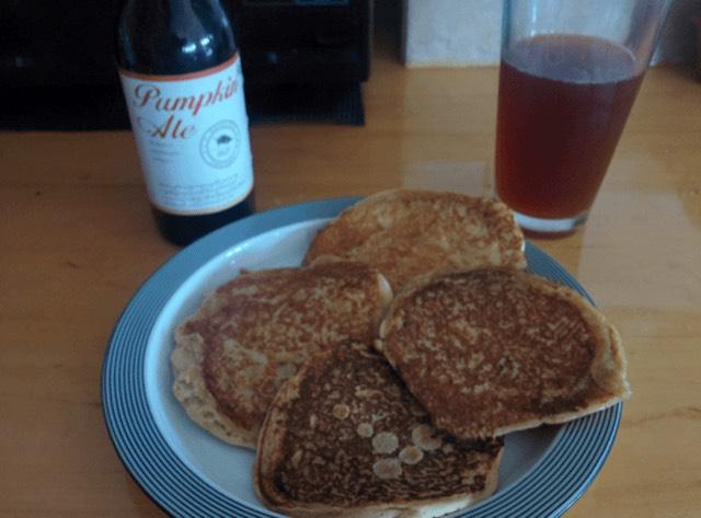 Now those look like pumpkin pancakes